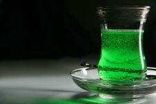Turkish Glass Stock Photo