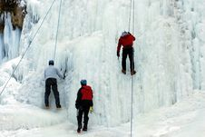 Free Ice Climbers Stock Images - 7994204