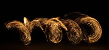 Free Fire Dancer In The Dark Stock Images - 7994464
