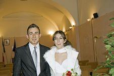 Free Marriage Veronica E Ilir Stock Photography - 7995442