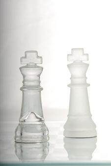 Free Two Chess King Stock Images - 7995454