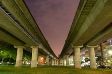 Free Metro Line In Taipei Royalty Free Stock Images - 7995969