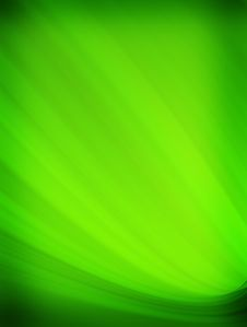 Free Green Impact Waves Royalty Free Stock Photo - 7996035