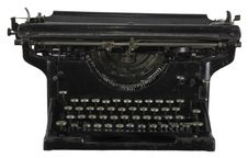 Free Old Rusty Typewriter Stock Photography - 7996092