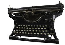 Free Old Rusty Typewriter Stock Image - 7996111