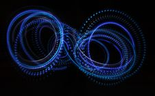 Free Neon Lights In The Dark Royalty Free Stock Photos - 7996718