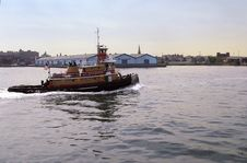 Free Tug Boat Stock Photo - 7996980