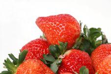 Free Fresh Strawberry Stock Image - 7997001