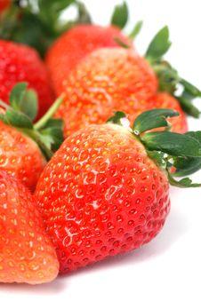 Free Fresh Strawberry Royalty Free Stock Images - 7997009