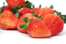 Free Fresh Strawberry Royalty Free Stock Images - 7997019