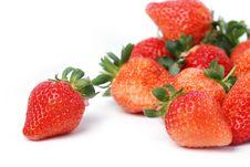 Free Fresh Strawberry Stock Image - 7997071