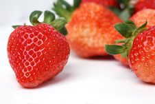 Free Fresh Strawberry Stock Photography - 7997312