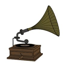 Free Old Gramophone Royalty Free Stock Images - 7997679