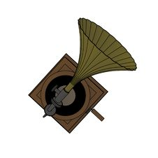 Free Old Gramophone Stock Photography - 7997682