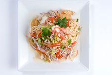 Free Fresh Asian Salad Royalty Free Stock Image - 7998186