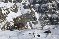 Free Mountain Hut Royalty Free Stock Photography - 7998687
