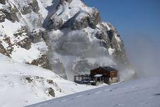 Free Mountain Hut Royalty Free Stock Photos - 7998758
