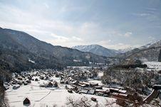Free Shirakawa-go Stock Photography - 7998762