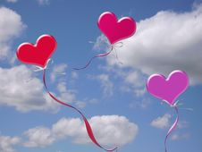 Free Love Is In The Air Royalty Free Stock Photo - 7998765
