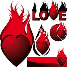 Free Hearts Royalty Free Stock Images - 7999259