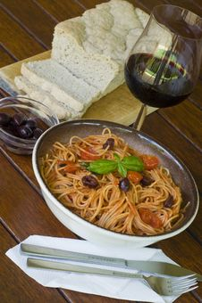 Free Spaghetti Royalty Free Stock Image - 7999466