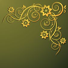 Free Floral Background Royalty Free Stock Images - 7999549