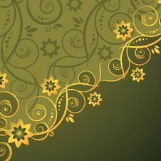 Free Floral Background Royalty Free Stock Photography - 7999557