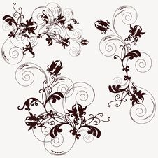 Free Floral Background Royalty Free Stock Photos - 7999588