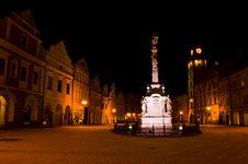 Free Trebon At Night (Czech Republic) Stock Images - 7999664