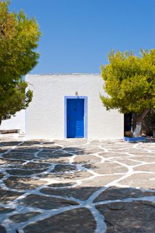 Free Small Greek Dwelling Stock Photos - 7999703