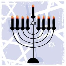 Free The Jewish Menorah Stock Photo - 7999730