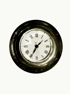 Free Old Clock 1 Royalty Free Stock Image - 80886