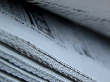 Japanese Newspapers Royalty Free Stock Image
