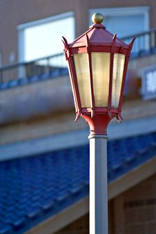 Free Chinese Street Lamp Royalty Free Stock Photography - 81207