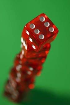 Free The Tower Of Dices Stock Images - 81614