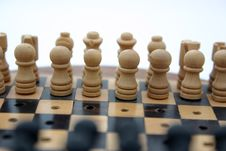 Free Chess Set Royalty Free Stock Images - 82189