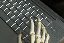 Free Skeletal Hands Royalty Free Stock Photo - 82755