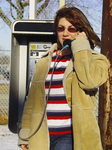 Free Payphone Royalty Free Stock Image - 83266