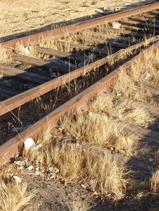 Free Old Railroad Tracks Stock Photo - 84620