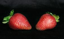 Free Strawberry Duet 2 Stock Photos - 86213