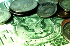 Free American Money 2 Royalty Free Stock Photography - 88157