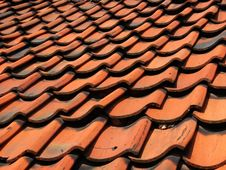 Free Tiled Roof Royalty Free Stock Image - 88606
