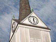 Free Clock Tower Royalty Free Stock Image - 88866