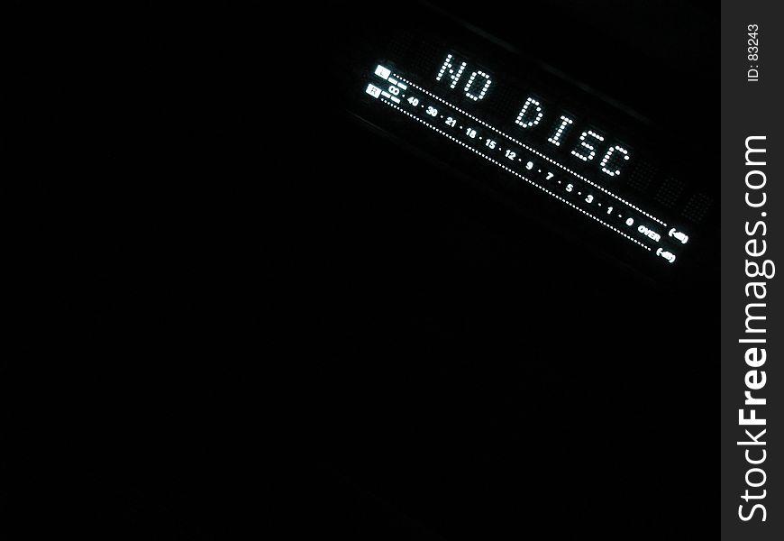 No Disc