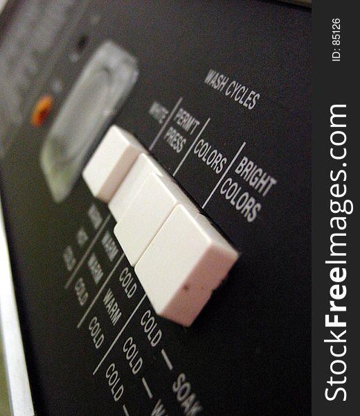 Washing Machine Closeup