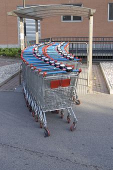 Shoping Cart Stock Photos