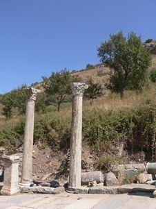Free Ephesus Royalty Free Stock Photos - 800118