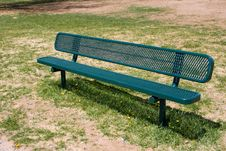 Free Deserted Park Bench Stock Photos - 800543