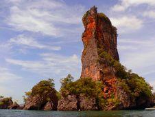 Free Limestone Karst From Kayak Stock Image - 801001