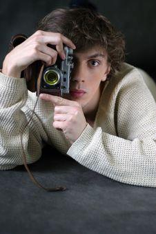 Free The Strange Photographer Royalty Free Stock Image - 802106